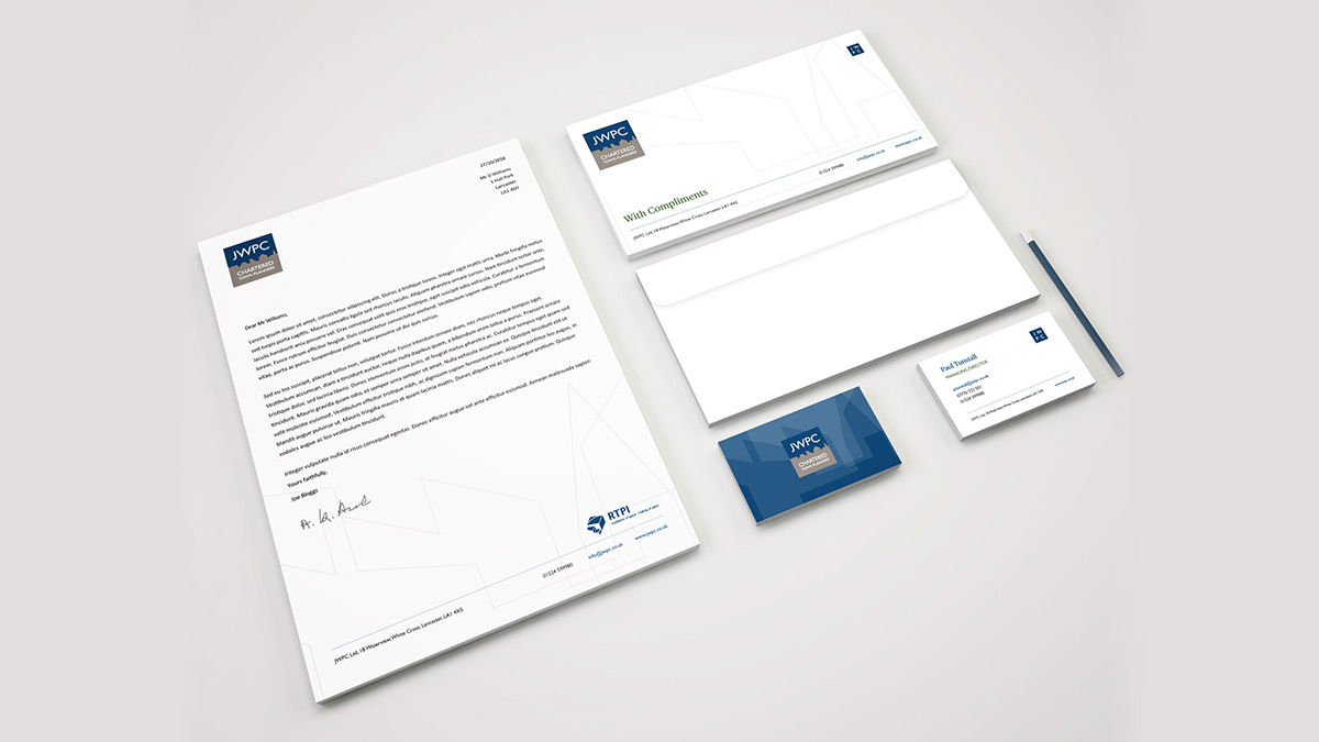 JWPC Stationery Design