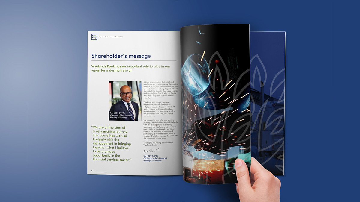 Wyelands Bank Annual Report