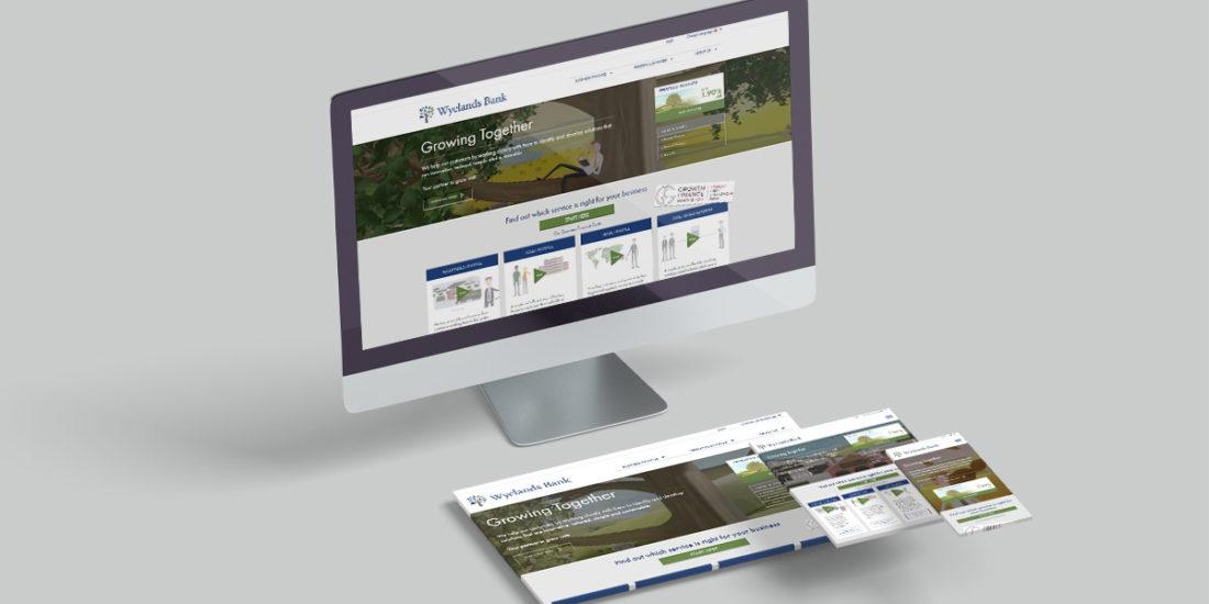 Wyelands Bank Digital Design & Development
