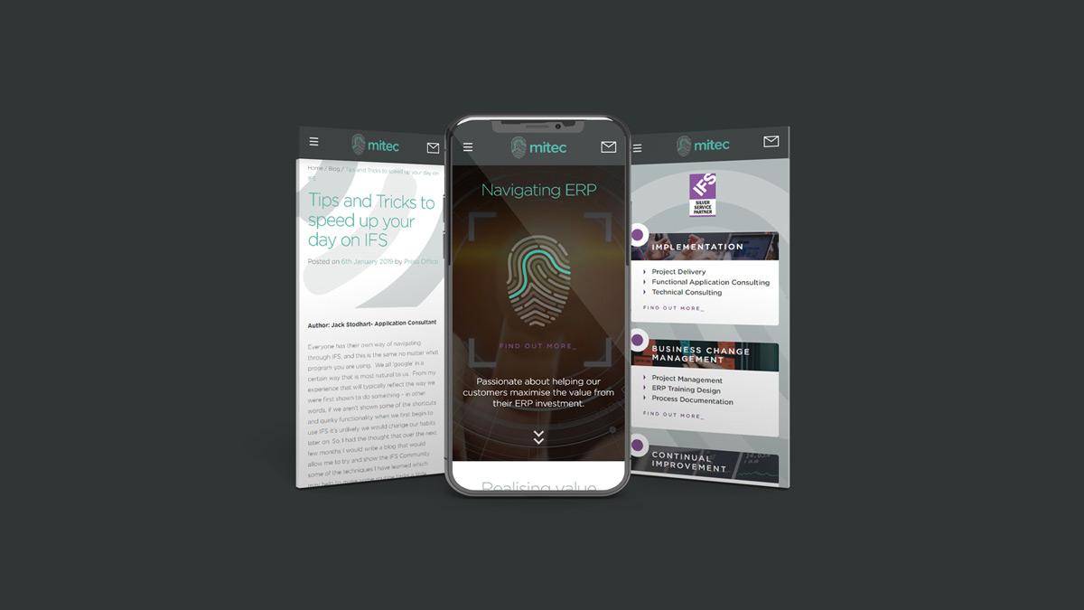 Mitec Consulting UX and Digital Design