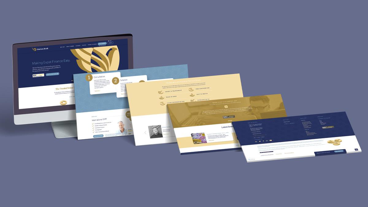 Harrison Brook UX and Digital Design